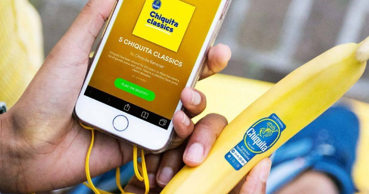 Chiquita Stickers Are Your Ticket to an Audio World