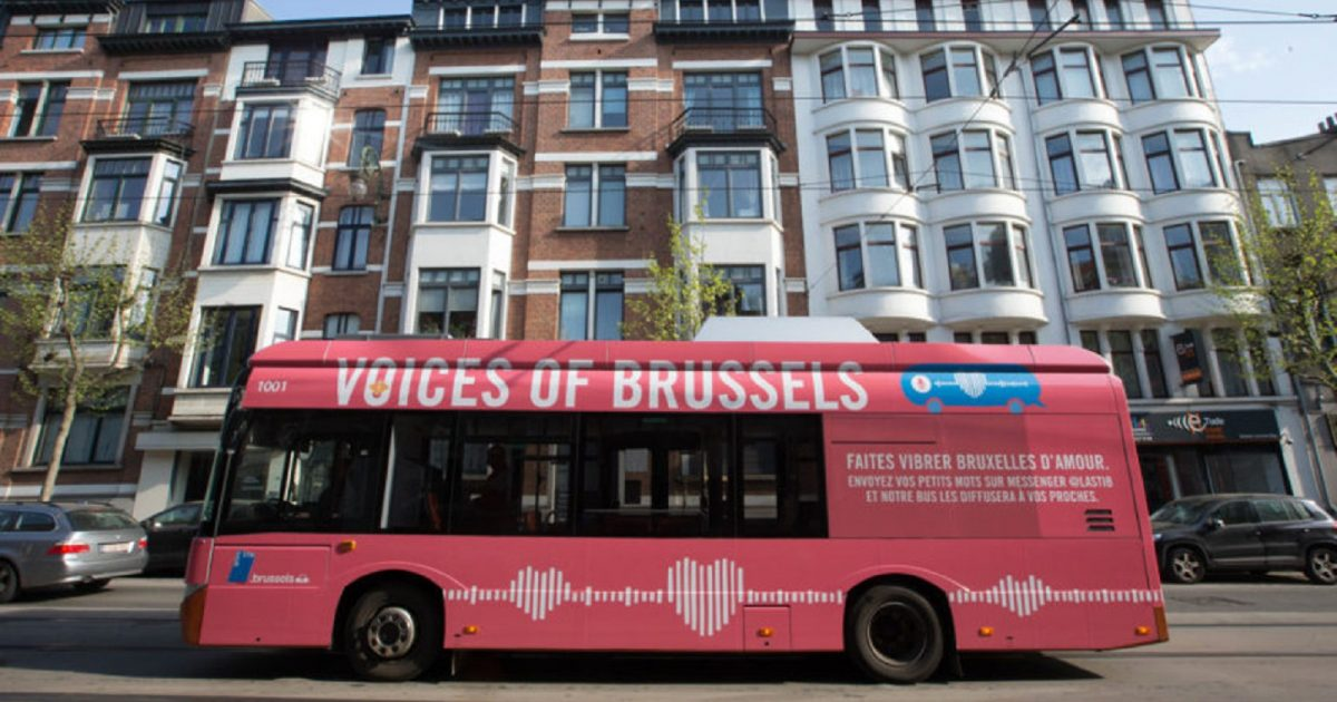 Brussels Softly Speaks to Its Residents