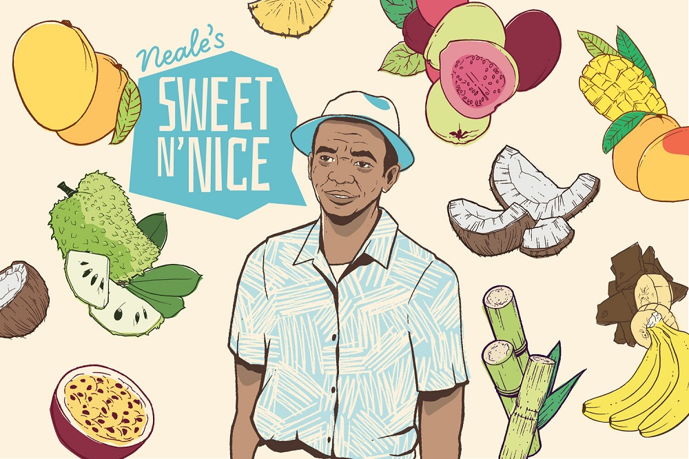 Neale's Sweet N' Nice's Packaging Reflects Its Caribbean Roots
