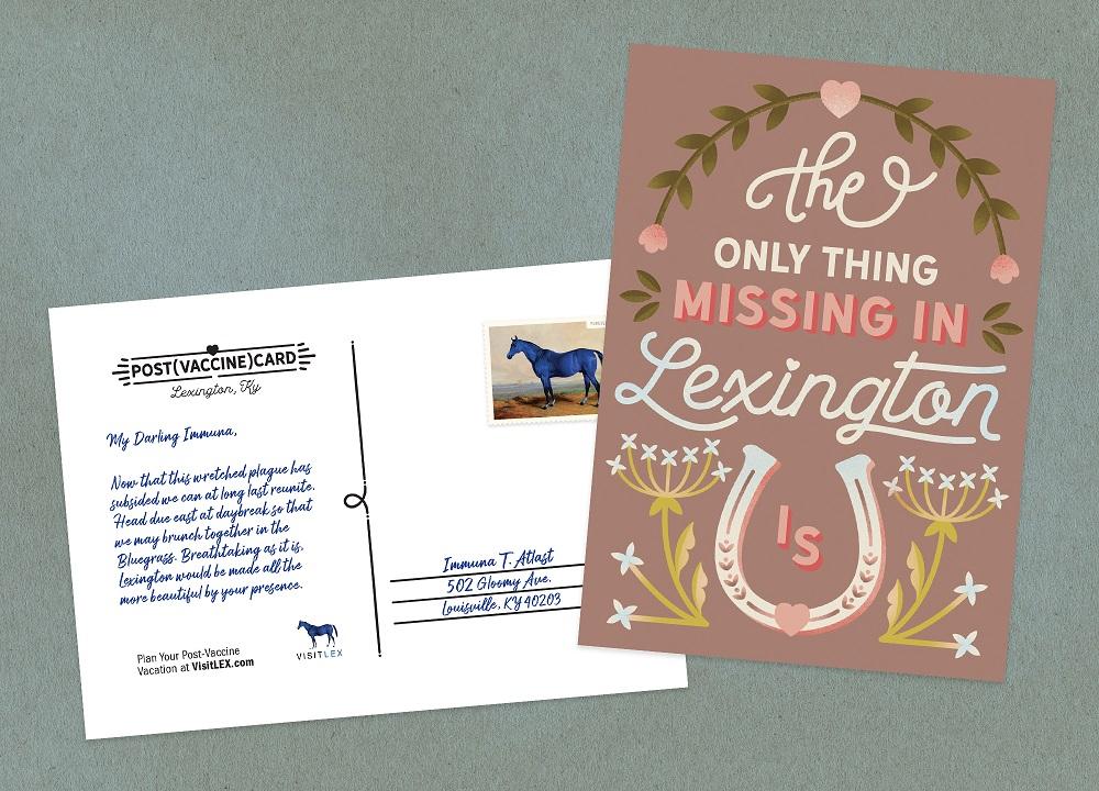Post(Vaccine)Cards Help Lexington Revive Its Tourism