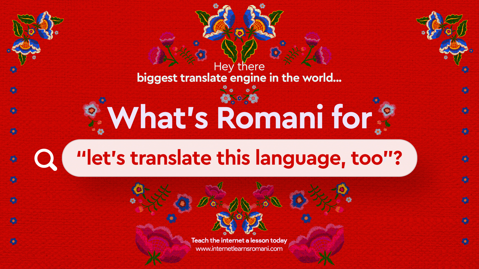 Vice Is Looking for Romani Speakers on the Web