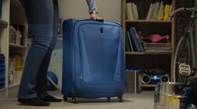 Рекламний ролик про забуту валізу